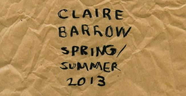 Claire Barrow SS13 collection