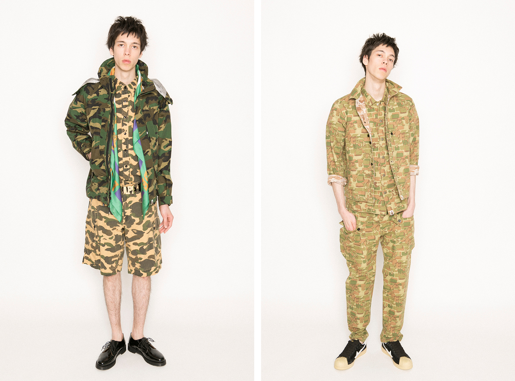 Bathing Ape 2013 S/S collection