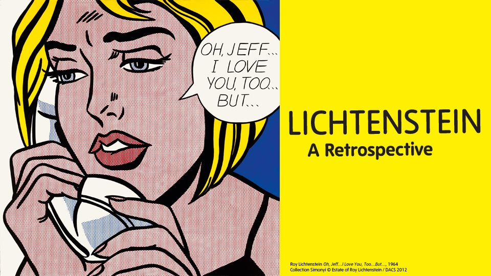 Lichtenstein - A retrospective at Tate Modern