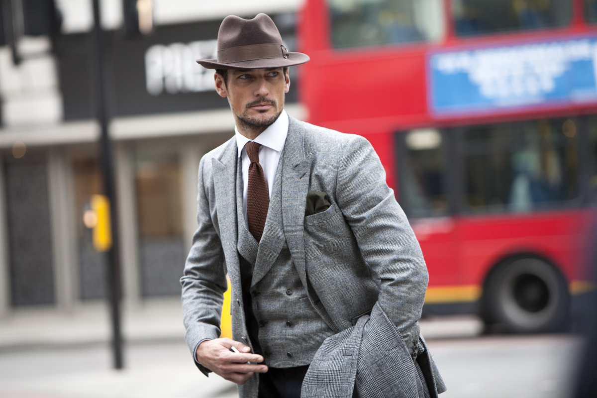 London Collections Men - 2013 - Street Style shots © CHASSEUR MAGAZINE