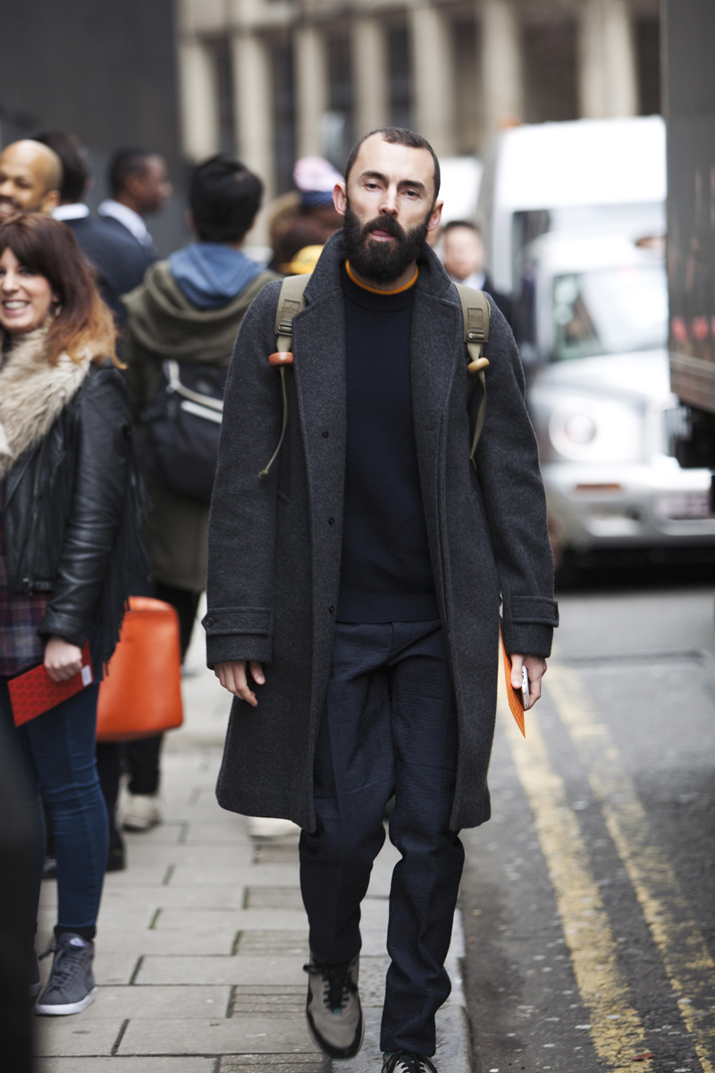 london collections street style shots � chasseur magazine