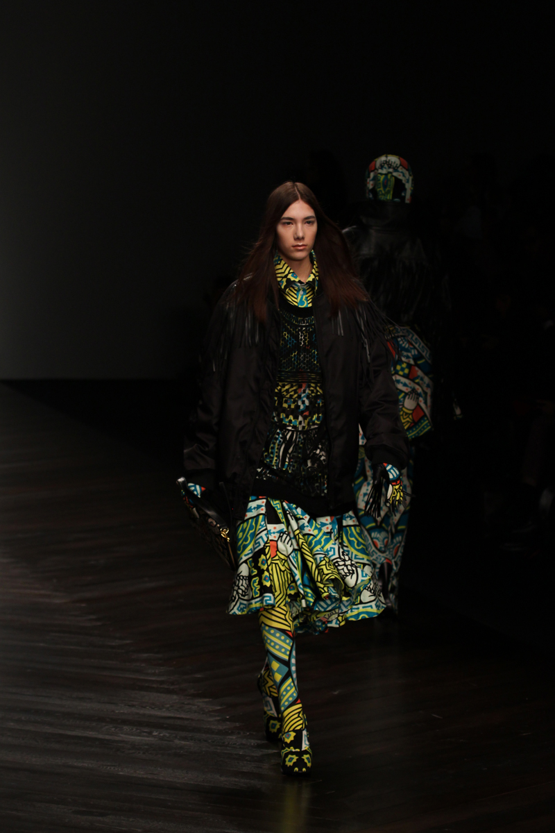 KTZ 2013 AW London Fashion Week © CHASSEUR magazine