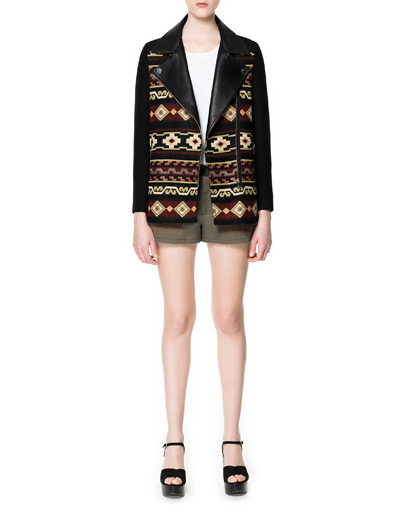Jacket With Navajo Print