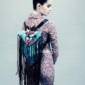 Jane Bowler Tessellate Autumn Winter 2013 Collection (12)