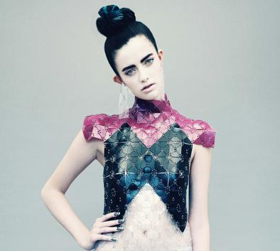 Jane Bowler Tessellate Autumn Winter 2013 Collection (3) d