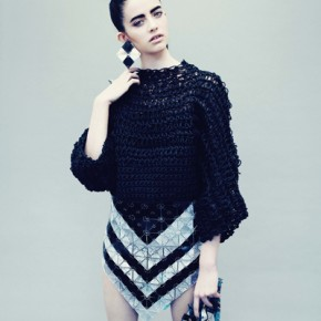 Jane Bowler Tessellate Autumn Winter 2013 Collection (4)