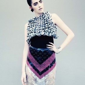 Jane Bowler Tessellate Autumn Winter 2013 Collection (6)