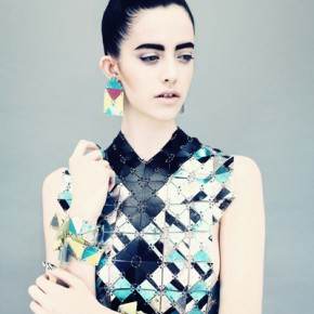 Jane Bowler Tessellate Autumn Winter 2013 Collection (7)