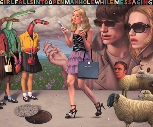 Alex Gross | Surreal Mixed Media