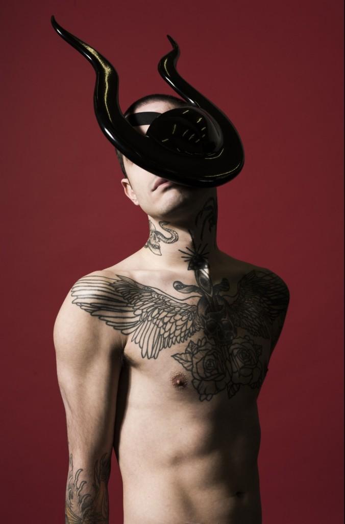 Rein Vollenga headpiece shot by Jonas Lindström