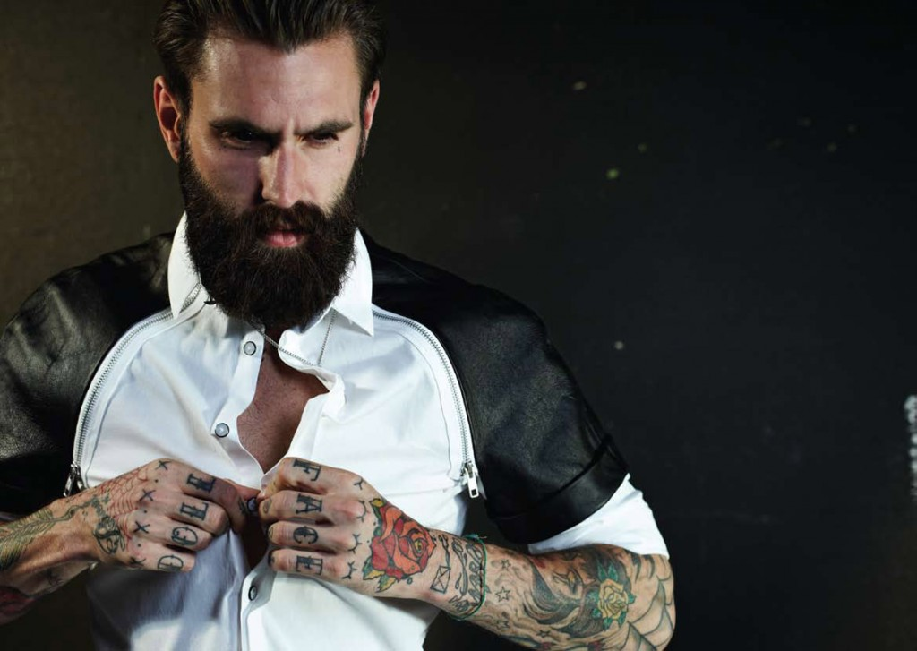 Ricki Hall for SONS OF HEROES Spring Summer 2013 Collection