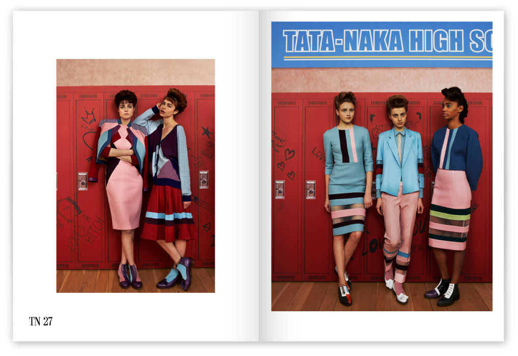 Tata Naka 2013 Autumn Winter Collection