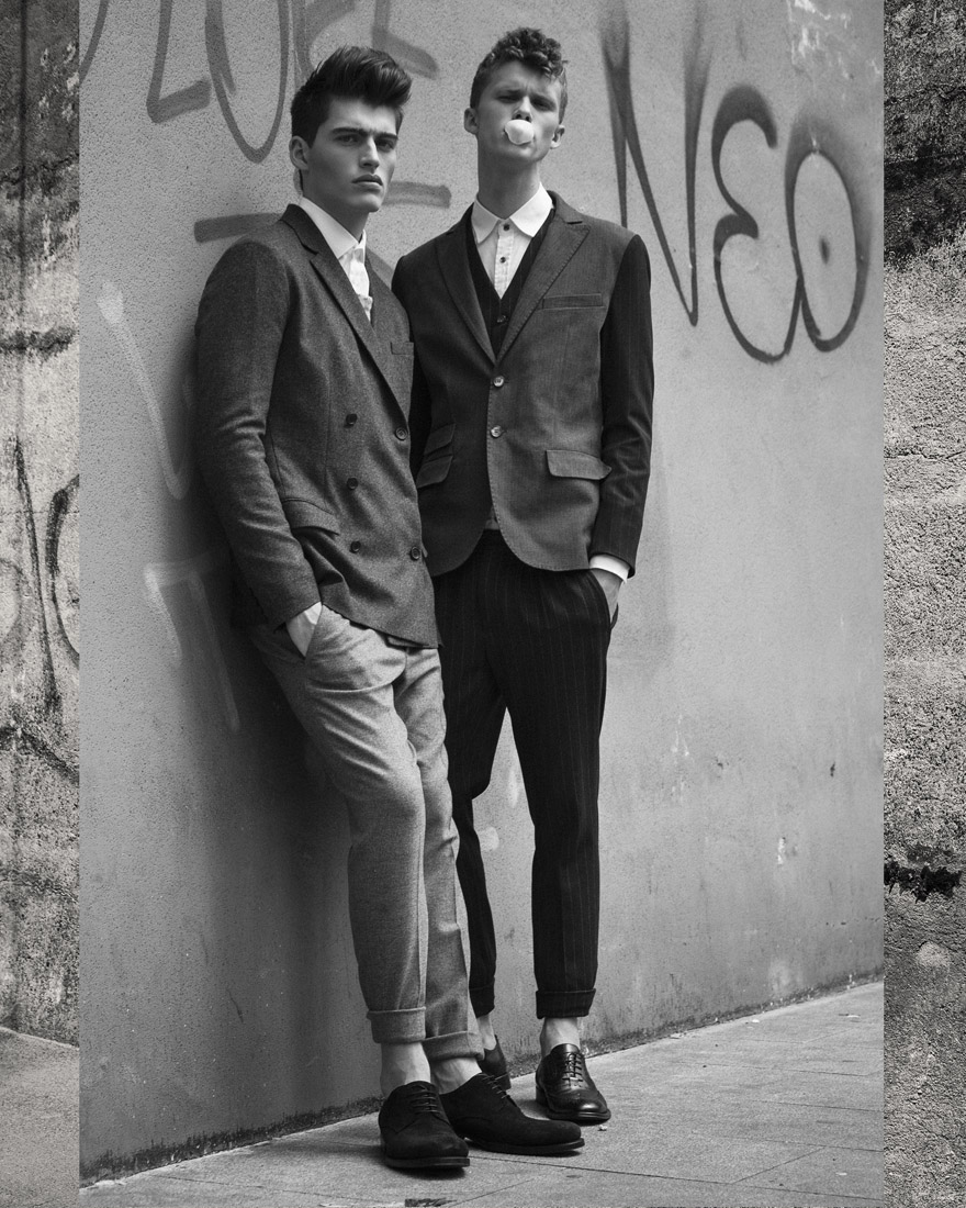 Naughty and Young by Marco Mezzani for CHASSEUR MAGAZINE