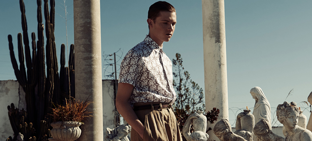 Aaron Henry Lynch for CHASSEUR MAGAZINE issue 5