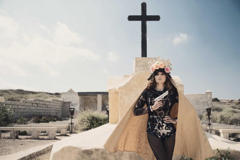 Kristen Buhagiar by Karl Cutajar for CHASSEUR Magazine