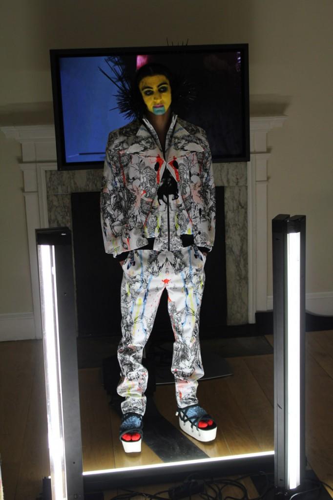 TOM VAN DER BORGHT London Fashion Week show 2013 AW © CHASSEUR MAGAZINE