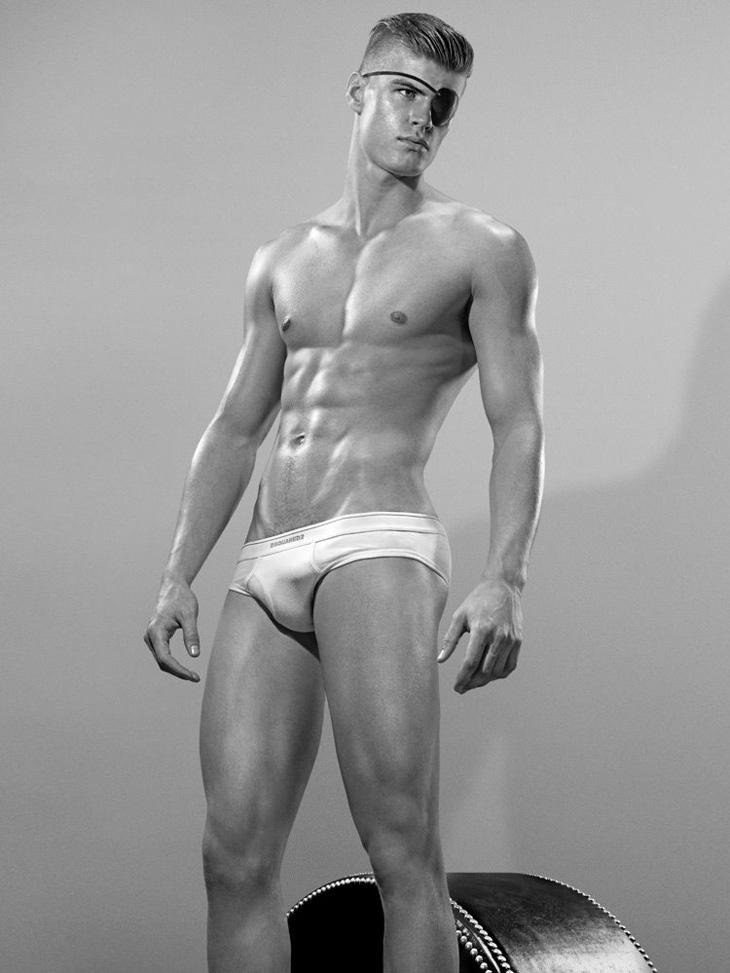 Dsquared2 Underwear campaign by Steven Klein