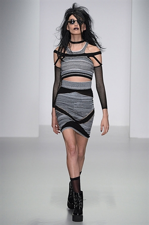 Mark Fast 2014 Spring Summer Collection - LONDON FASHION WEEK (5)