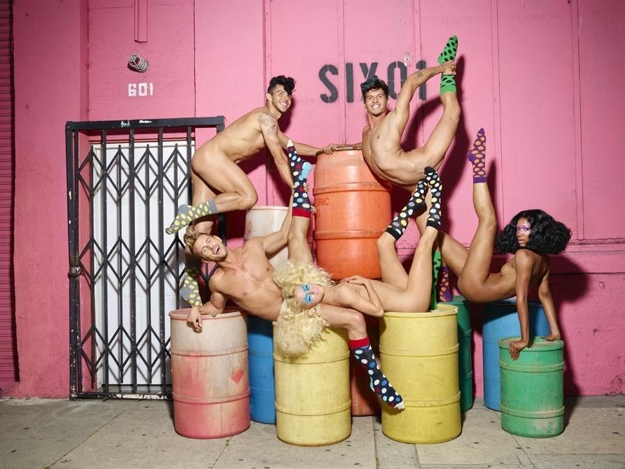 David LaChapelle x Happy Socks 2013 Campaign