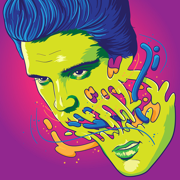 Elvis by Rubens Cantuni