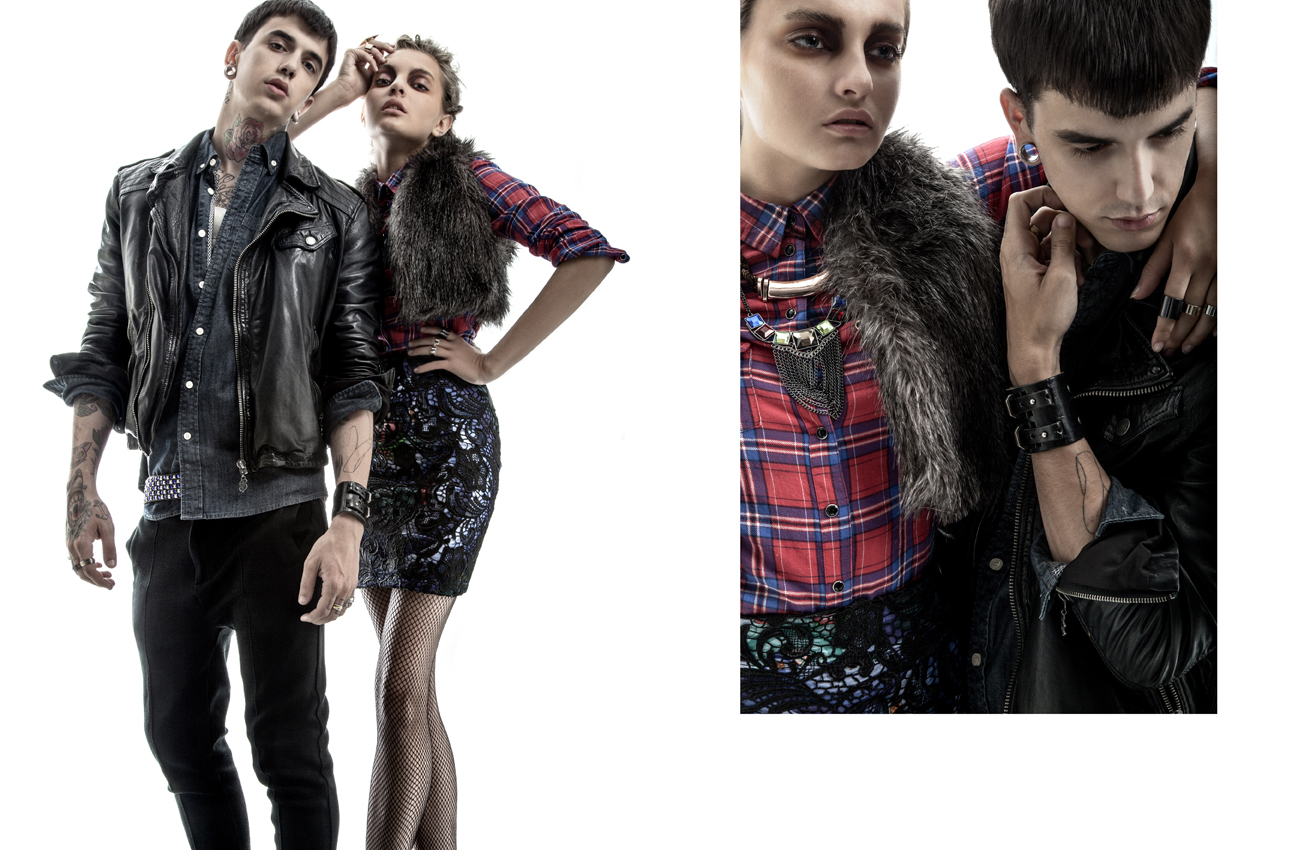 Thanos Birbilis and Nataliia Kasatkina by Panagiotis Maidis for CHASSEUR MAGAZINE