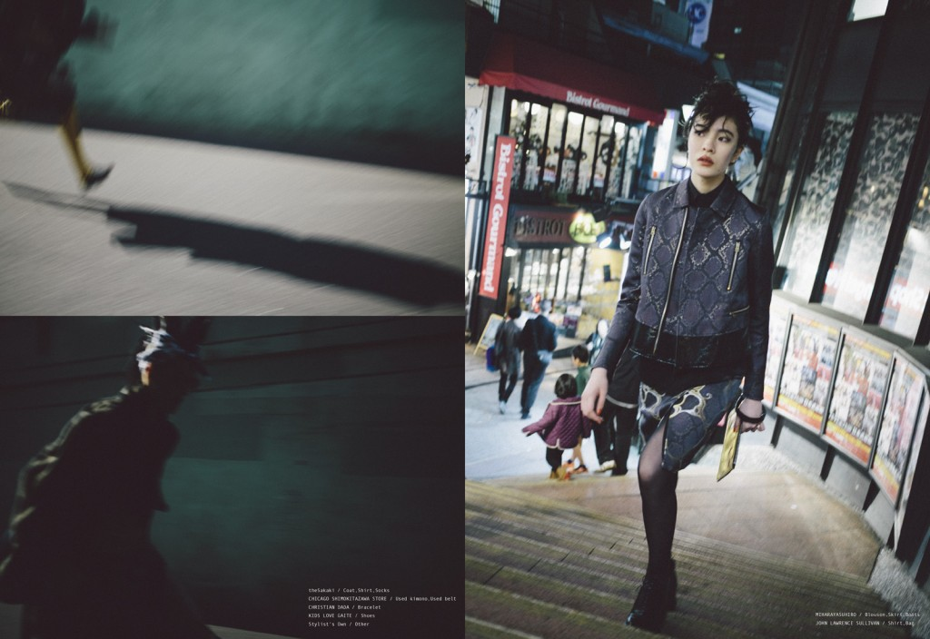 BOYS ON THE RUN by Takuya Murata for CHASSEUR MAGAZINE