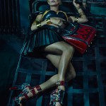 ALEXANDER MCQUEEN : 2014 S/S CAMPAIGN FEATURING KATE MOSS