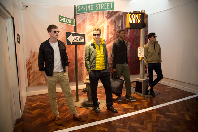 LONDON COLLECTIONS -Orlebar Brown 2014 Autumn Winter Collection © CHASSEUR MAGAZINE