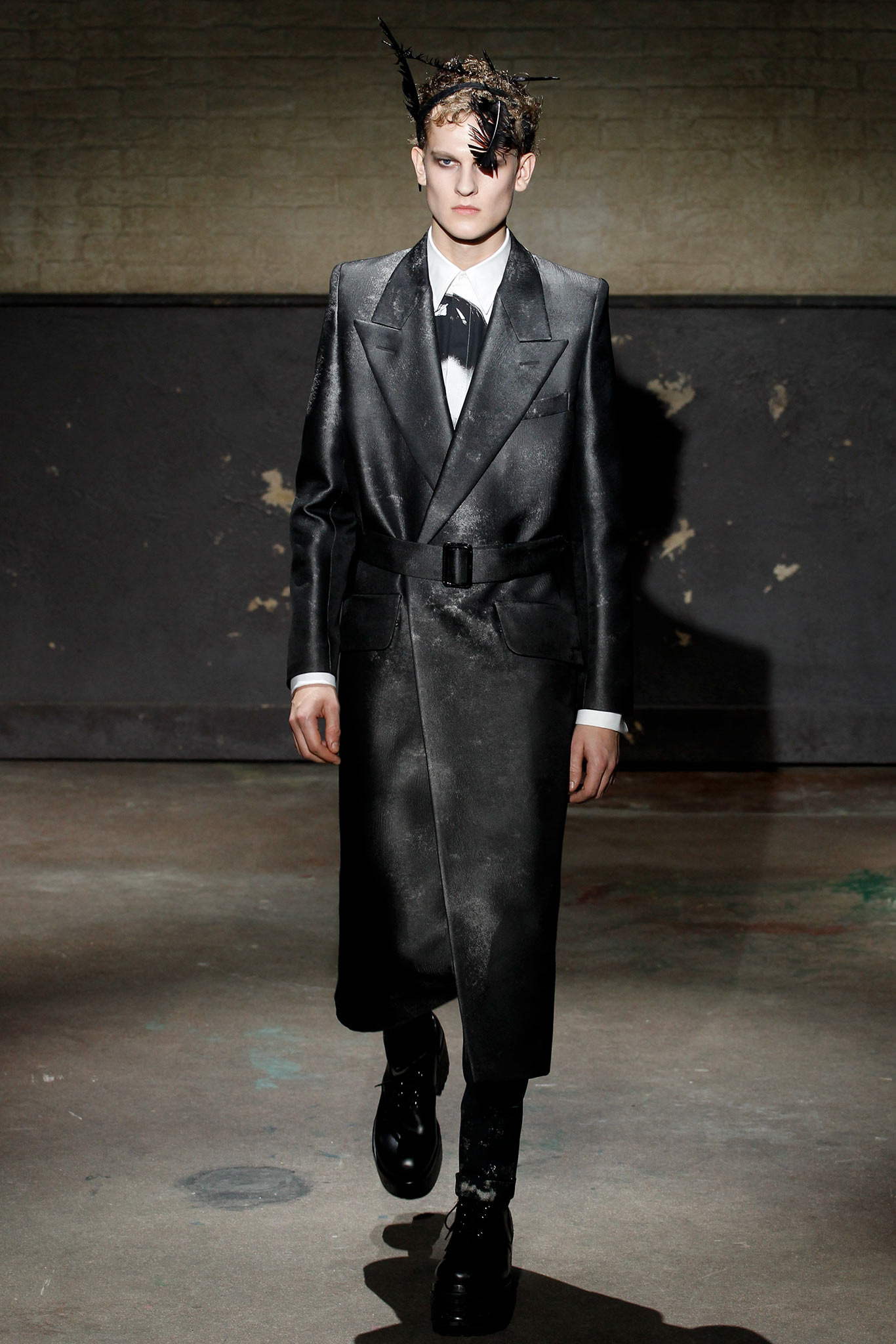 London Collections - Alexander McQueen 2014 AW collection