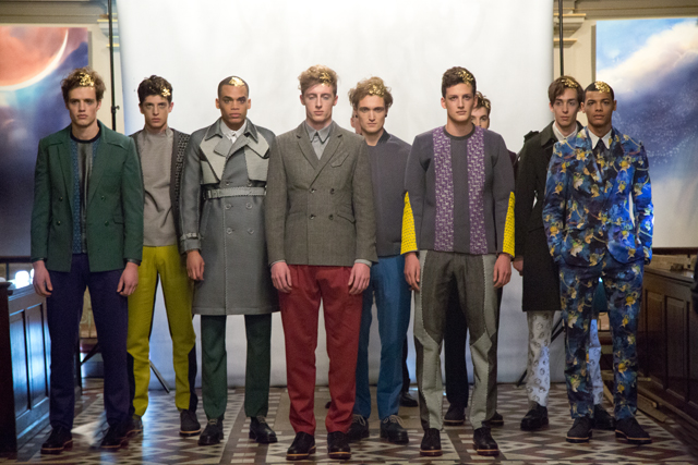 London Collections - Beau Homme 2014 AW © CHASSEUR MAGAZINE