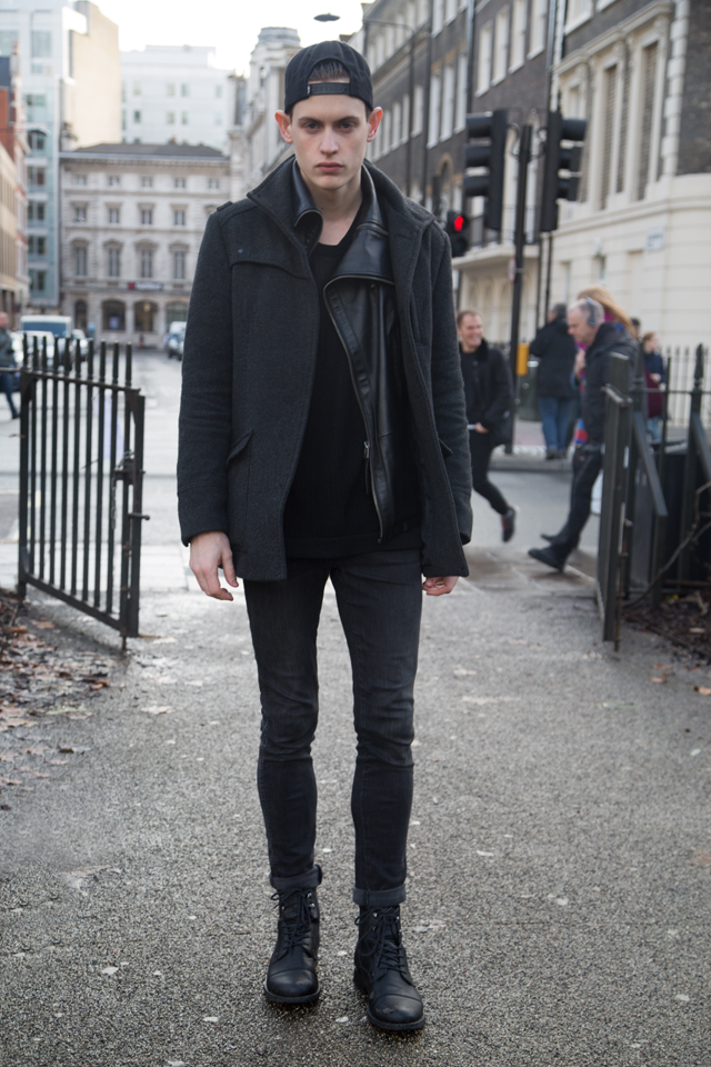 London Collections Men 2014 AW Streetstyle by Benjamin Turgel © CHASSEUR MAGAZINE