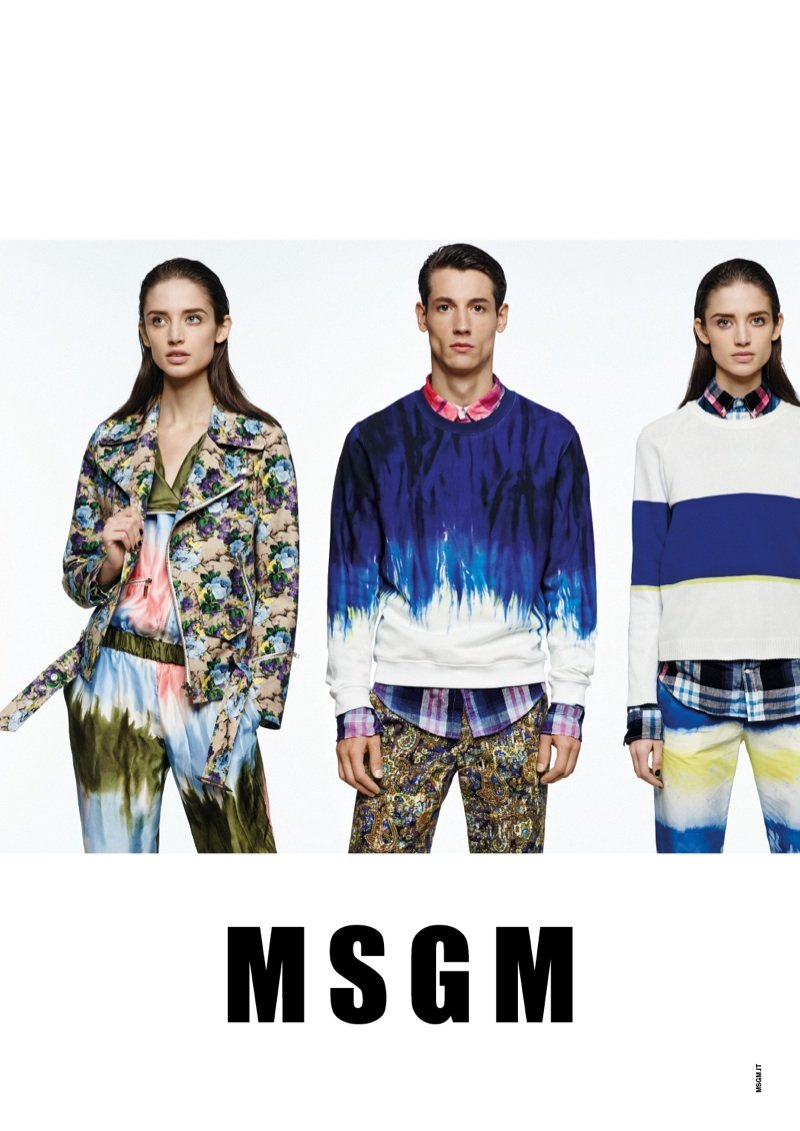 MSGM 2014 SS Campaign