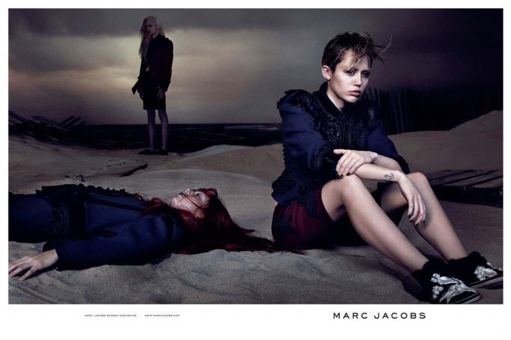 Marc Jacobs featuring Miley Cyrus 2014 Spring Summer Campaign