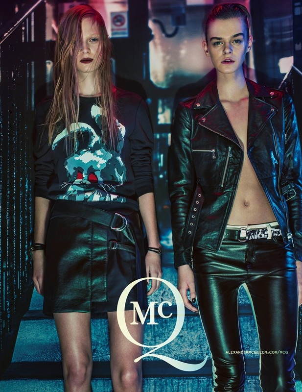 McQ by Alexander McQueen 2014 Spring Summer Campaign