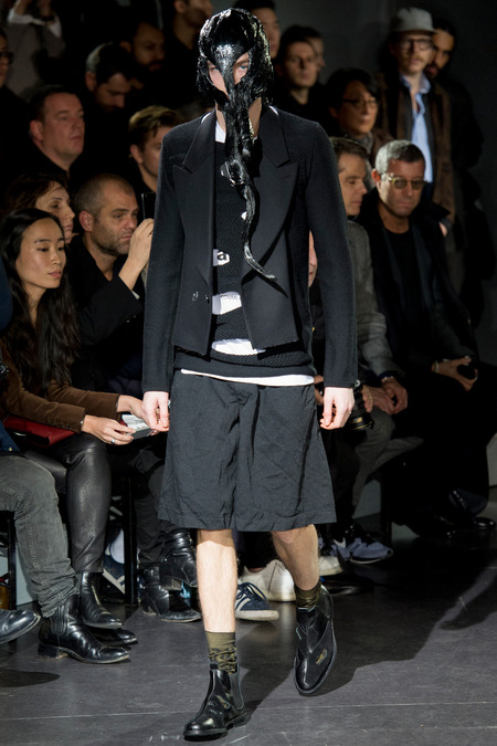 Paris Fashion Week - Comme des Garçons 2014 Autumn Winter Collection (32)