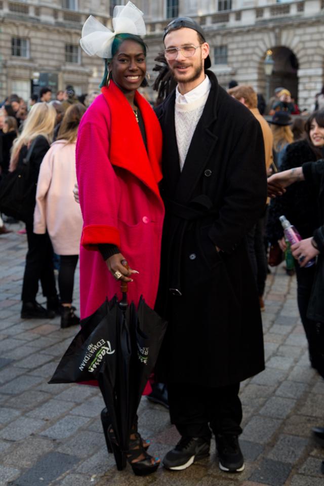 LONDON FASHION WEEK AW14 - STREETSTYLE - by Benjamin Turgel © CHASSEUR MAGAZINE