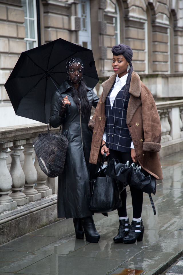 LONDON FASHION WEEK AW14 - STREETSTYLE - by Benjamin Turgel © CHASSEUR MAGAZINE