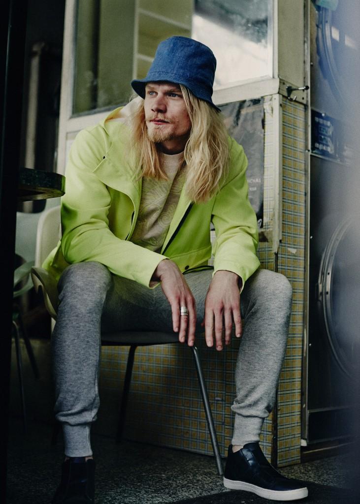 Caspar Peteus by Ronan Gallagher for CHASSEUR MAGAZINE