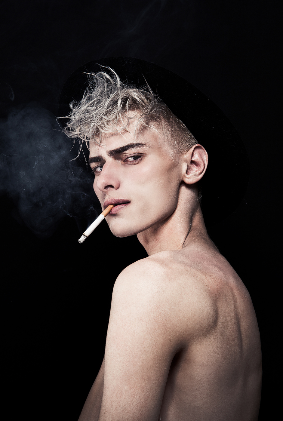 Ivan Claudiu Vlad by Jerome Gimenez for CHASSEUR MAGAZINE