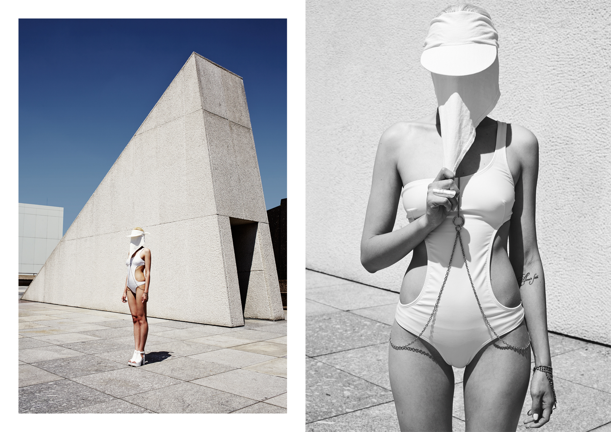 White Therapy by Santiago Perez for CHASSEUR MAGAZINE