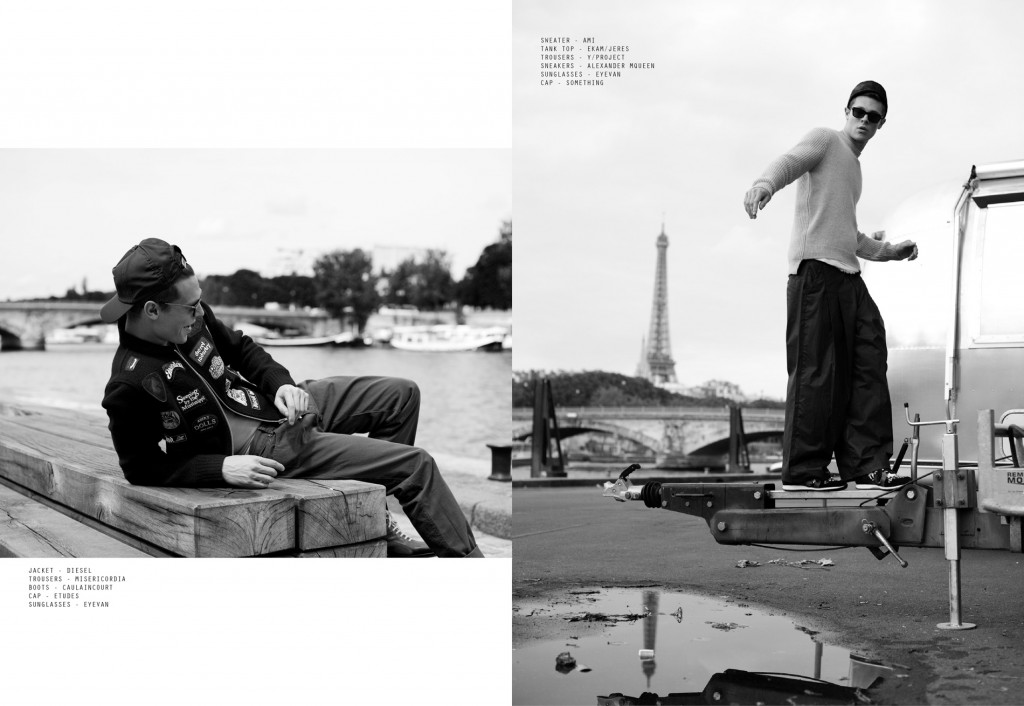 BY THE RIVER - Arthur De Valbray by Rumi Matsuzawa for CHASSEUR MAGAZINE issue #9