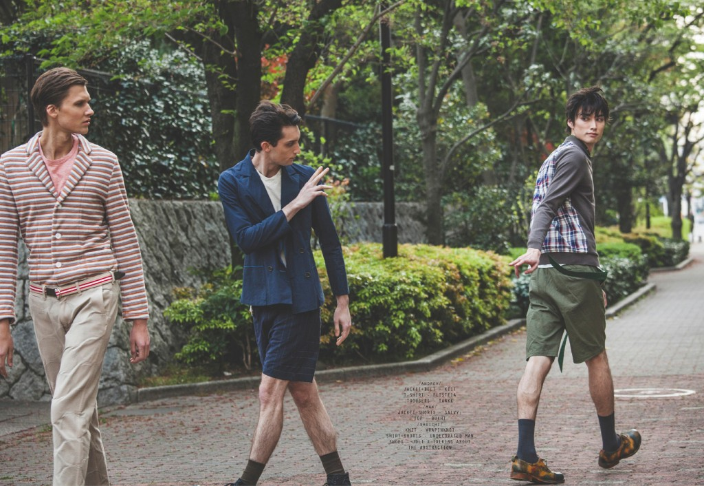 HIT THE ROAD by Myojin Makino for CHASSEUR MAGAZINE issue #9
