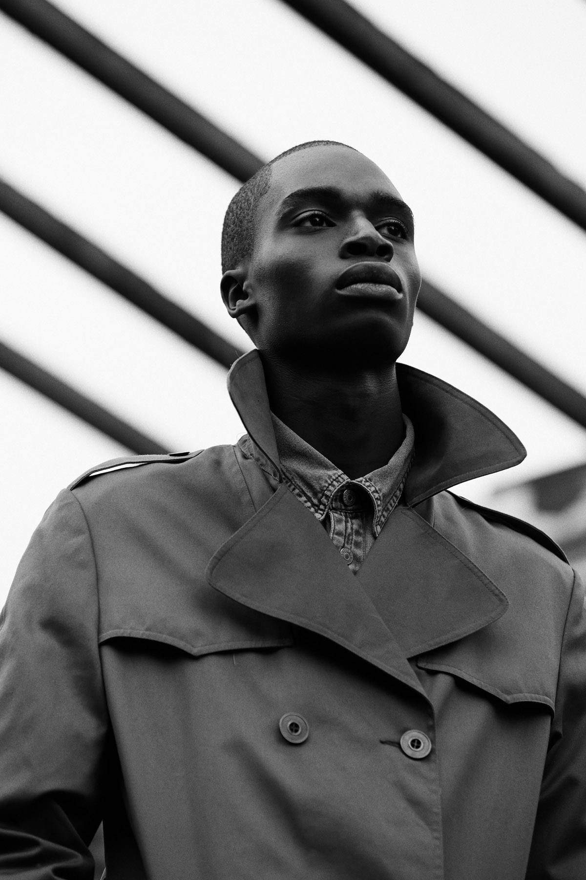Bakay Diaby by Alexandre Felix for CHASSEUR MAGAZINE