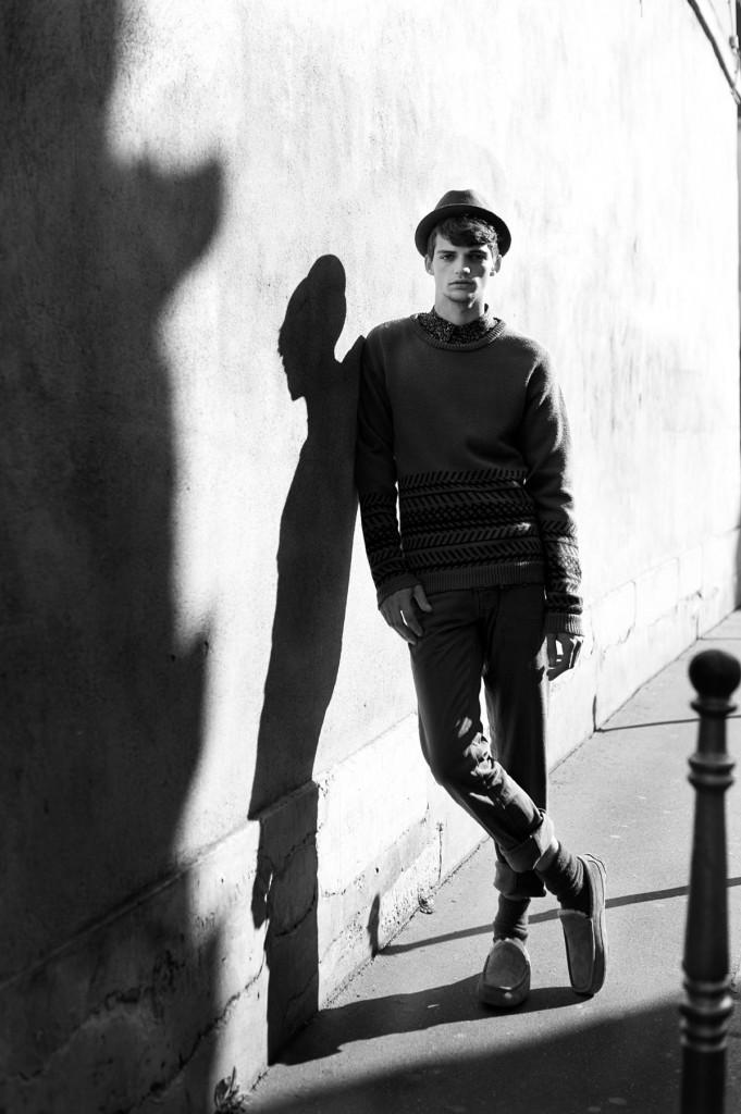 Francois Mouteau by Rumi Matsuzawa for CHASSEUR MAGAZINE