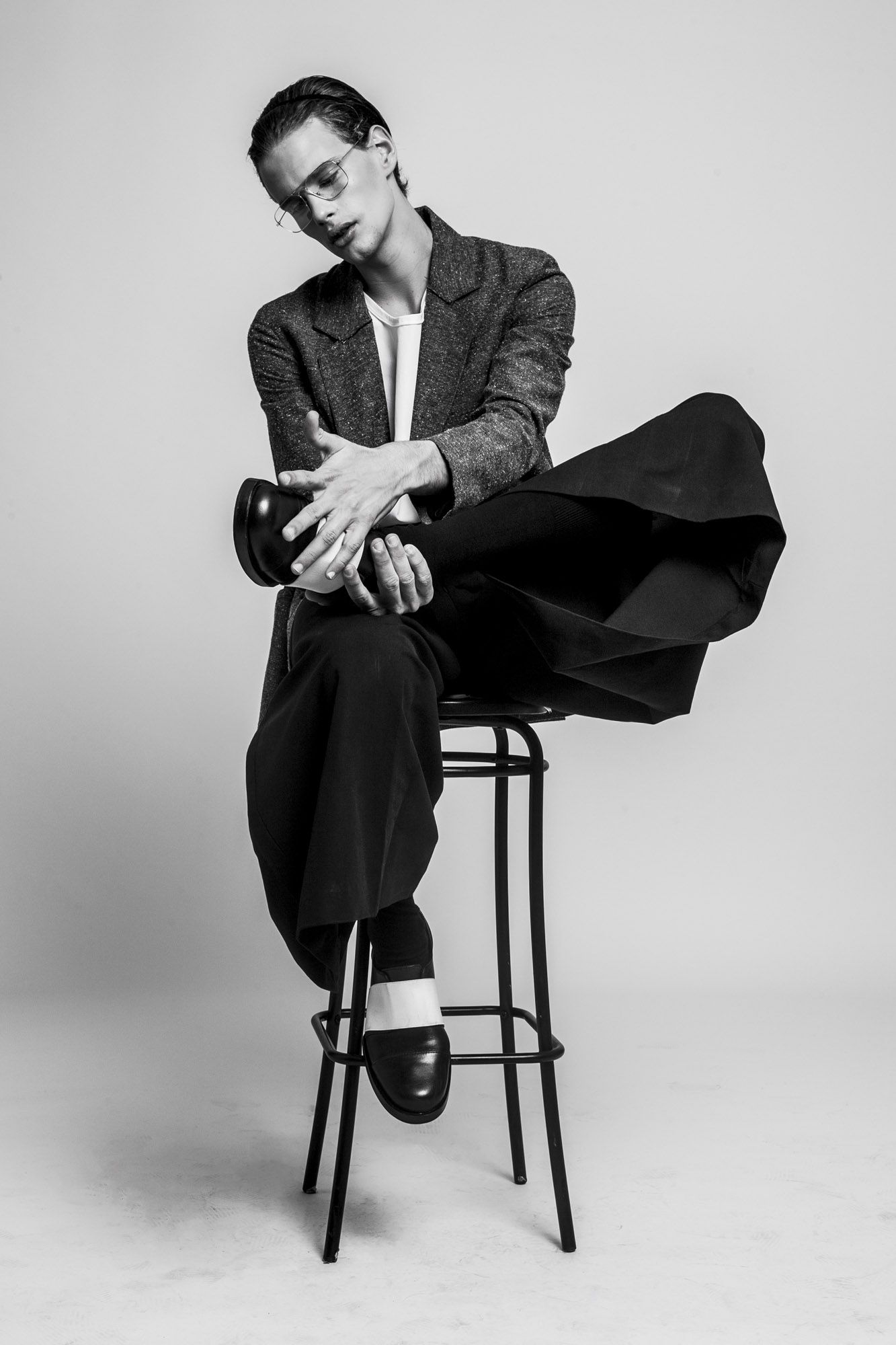 Riccardo Mora by Antonino Cafiero for CHASSEUR MAGAZINE