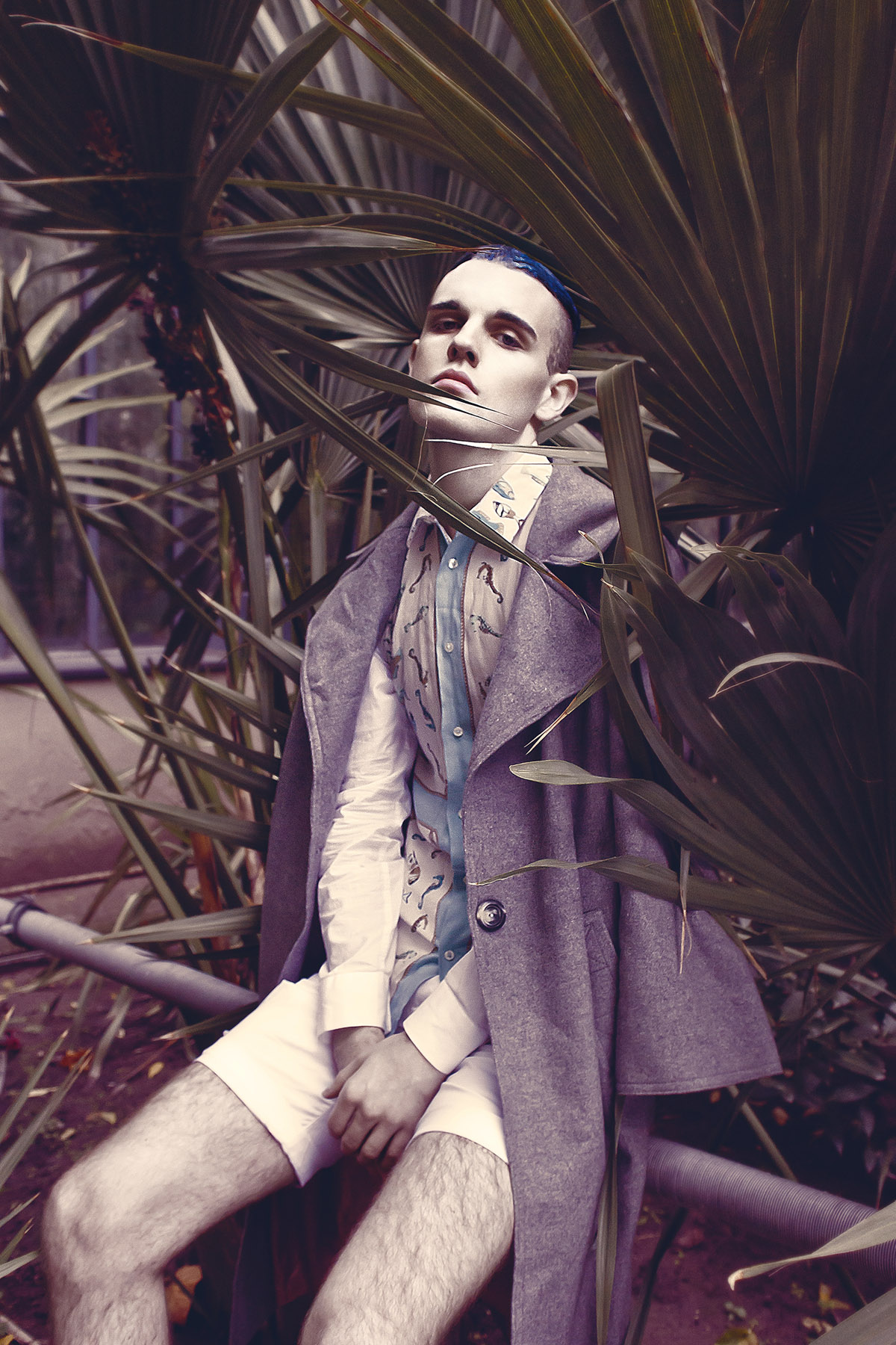 WINTER GARDEN by Reka Liziczai for CHASSEUR MAGAZINE
