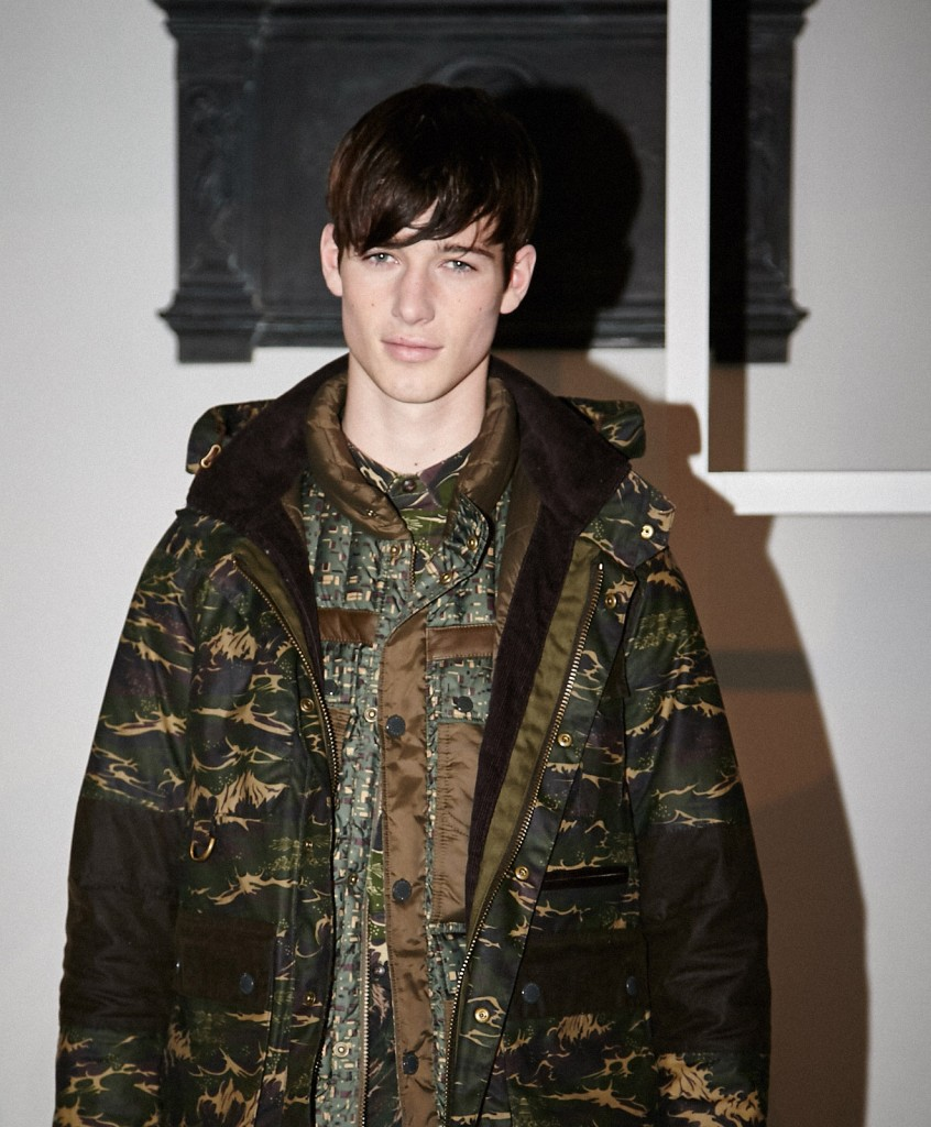 BARBOUR 2015 Autumn Winter London Collections © CHASSEUR MAGAZINE