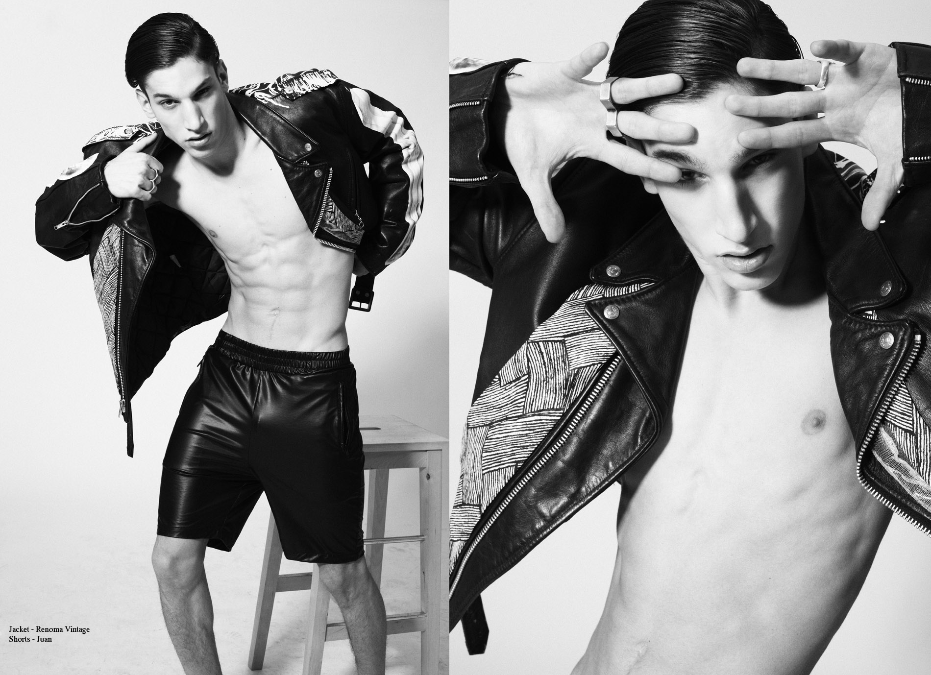 Iasonas Laios by Frederic Monceau for CHASSEUR MAGAZINE