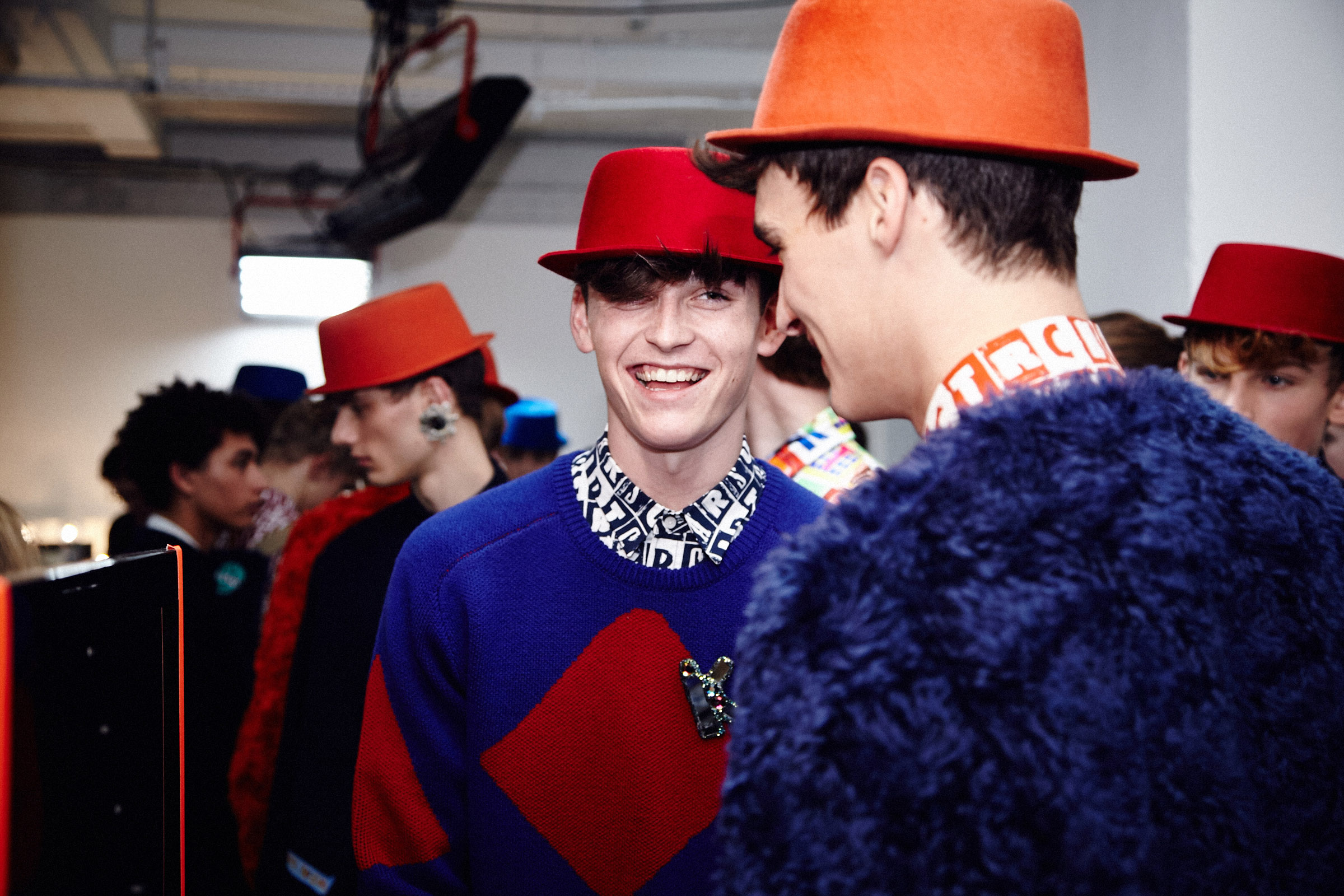 KIT NEALE 2015 Autumn Winter Backstage © CHASSEUR MAGAZINE