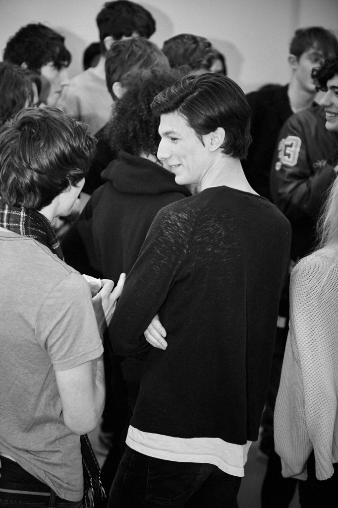 MATTHEW MILLER 2015 Autumn Winter London Collections - backstage © CHASSEUR MAGAZINE